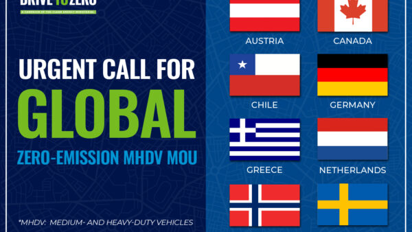 Permalink to Governments Call on Leading Nations to Jointly Pursue Global Agreement on Zero-Emission Trucks and Meet Paris Climate Goals | 6.2-6.11.21